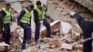 Se derrumbó un edificio de ocho pisos en construcción sin causar víctimas