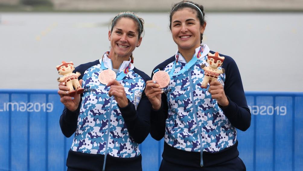 Oriana Ruiz y  Milka Kraljev,  bronce en doble par de remos cortos