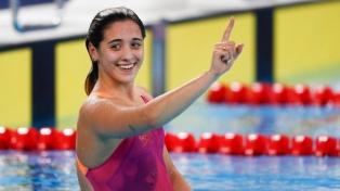 La nadadora Pignatiello será la abanderada argentina en el cierre
