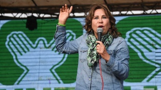 Detuvieron a la ex candidata presidencial Sandra Torres