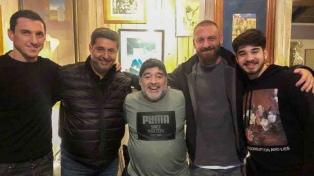 De Rossi conoció a Maradona
