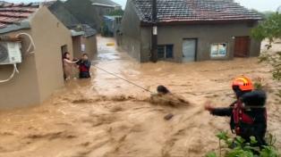 El tifón Lekima dejó 32 muertos y 5 millones de afectados en su paso