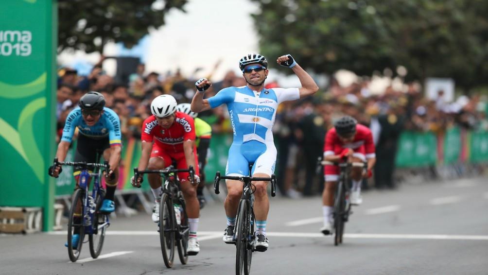 Maximiliano Richeze venció en ciclismo en ruta (177 kilómetros). Hacía 60 años que la Argentina no lo lograba el oro.