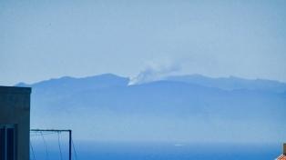 Un incendio forestal quemó más de mil hectáreas en isla de Gran Canaria