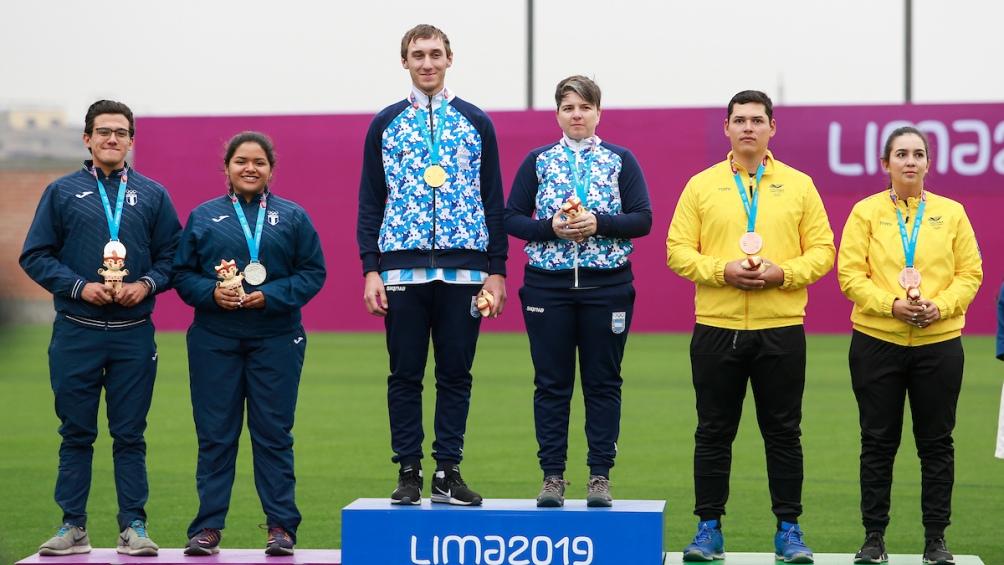 Fue la primera medalla en la historia de la arquería. La de plata fue para Guatemala y la de bronce, para Colombia.
