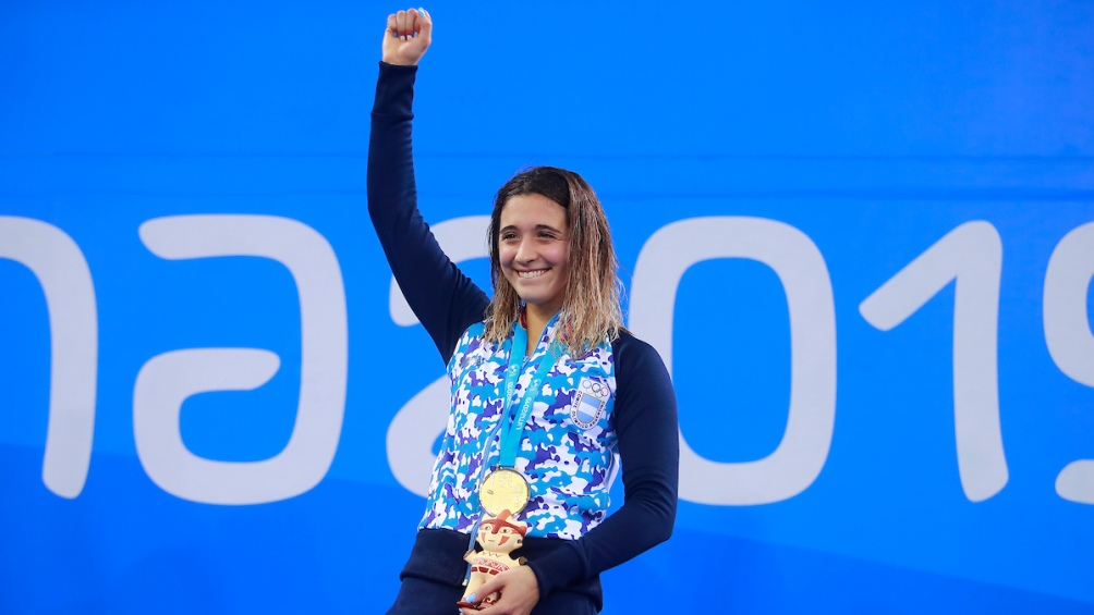 La chica de San Isidro superó a chilena Kristel Kobriche (plata) y a la estadounidense Rebecca Mann (bronce).