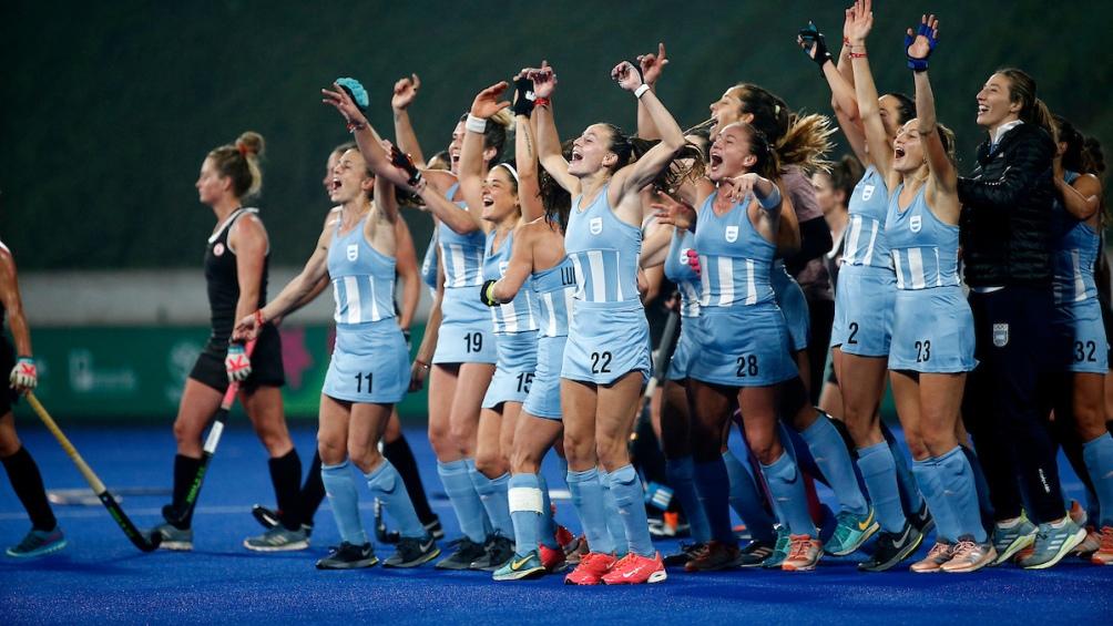 El seleccionado de hockey femenino goleó a Canada 5 a 1 en la final. Eran grandes candidatas al oro y lo confirmaron.