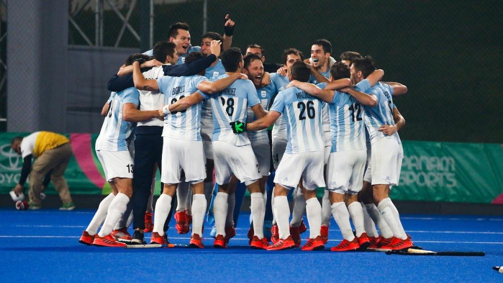 La selección de hockey masculina venció cómodamente a Canadá por 5 a 2 y se llevó la medalla dorada.