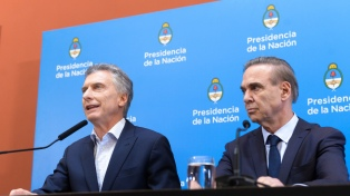 """Macri dijo que """"el cambio continúa"""" y confió en revertir en octubre el resultado de las PASO"""