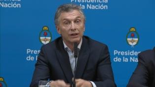Macri dijo que llamó a otros candidatos presidenciales para felicitarlos