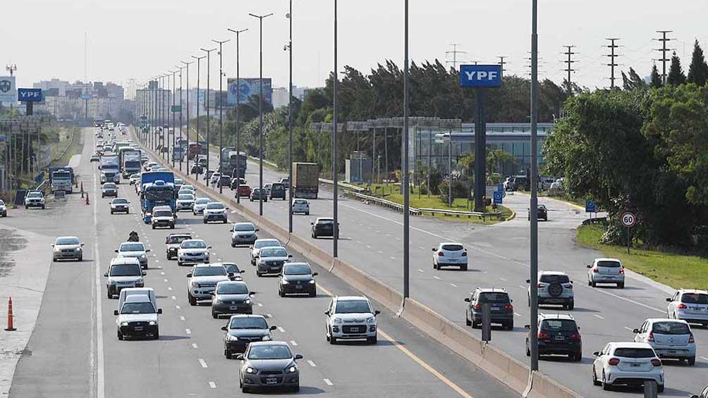 Cierran por obras el acceso a La Plata por autopista