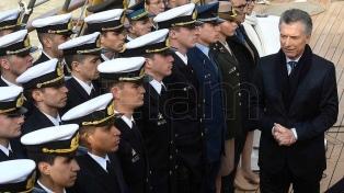 """Macri dijo que la Argentina tiene que ser """"parte del mundo"""" para generar """"oportunidades de progreso"""""""