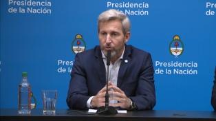 """""""El mayor esfuerzo ya pasó"""", aseguró Frigerio al recorrer obras en Tierra del Fuego"""