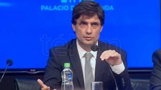 """Lacunza le respondió a los gobernadores del PJ: """"No hay recursos previstos de compensación"""""""