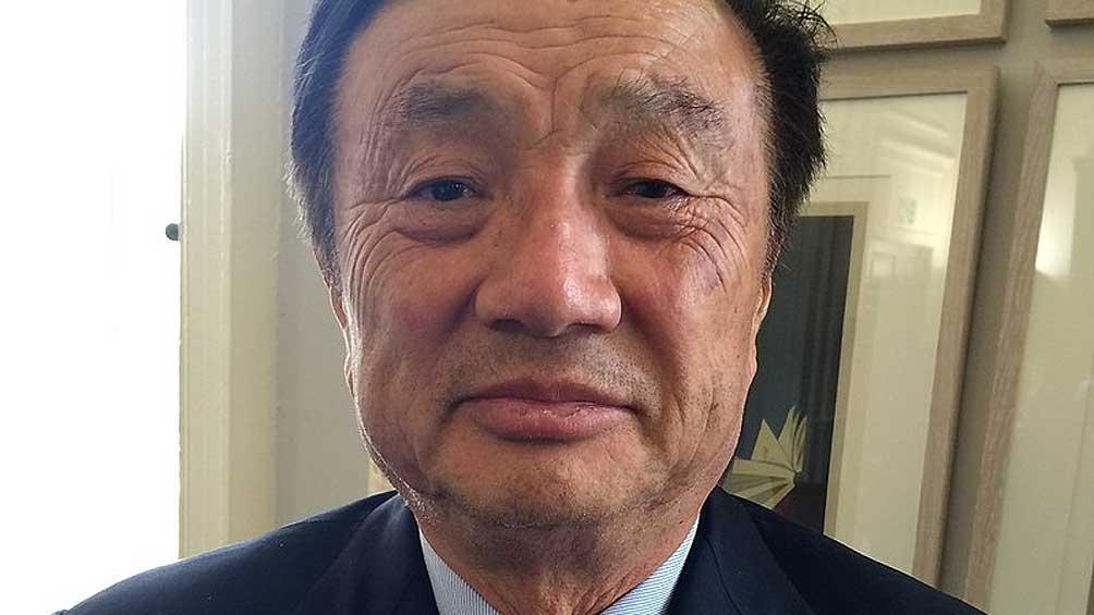 Ren Zhengfei, presidente de la empresa, fundó Huawei hace 31 años.