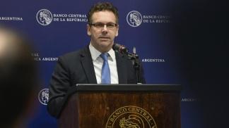El presidente del Banco Central, Guido Sandleris