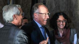 Lacunza recibió a Nielsen y Todesca y coincidieron en la necesidad de buscar estabilidad