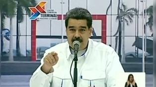 """Maduro dijo que hay """"contactos"""" para retomar el diálogo con la oposición"""