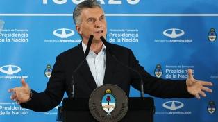 """Macri: """"Vamos a estar al lado de cada argentino para que nadie se quede atrás"""""""