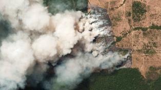 El humo de los incendios llegó al norte de la Argentina