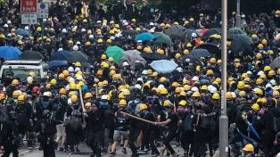 Policía alerta que las protestas están fuera de control