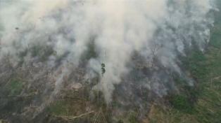 El humo proveniente de Brasil y Bolivia ya cubre gran parte del país