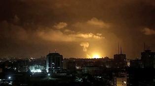 Bombardean una instalación de Hamas en Gaza en respuesta al lanzamiento de cohetes