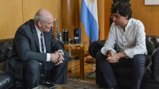 """Espert le pidió al Presidente """"estar más tranquilo"""", en su reunión con Lacunza"""