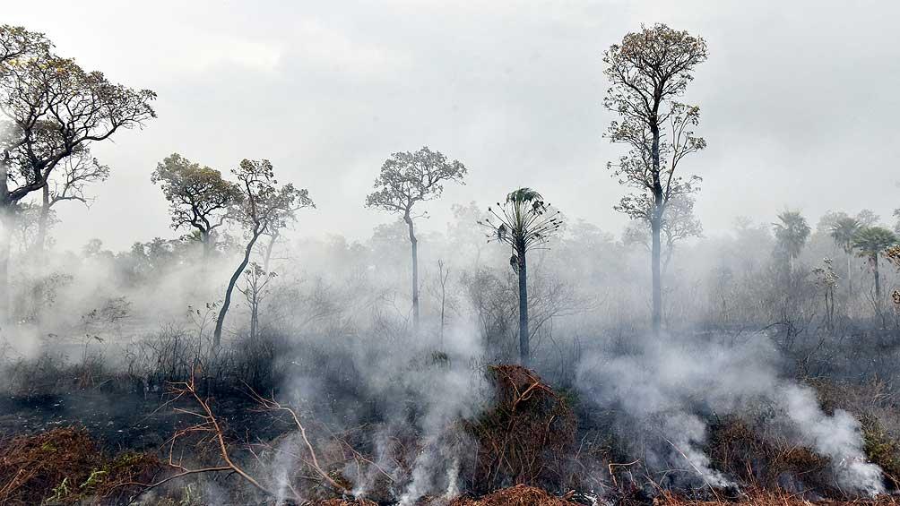 Envían equipos de bomberos a Bolivia para luchar contra los incendios