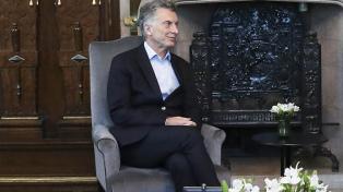 Macri encabezó una reunión del gabinete de Cambio Climático en la Casa Rosada