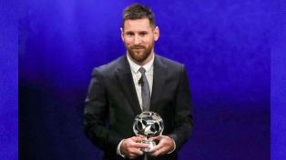 Messi fue elegido mejor delantero de la temporada 2018/19
