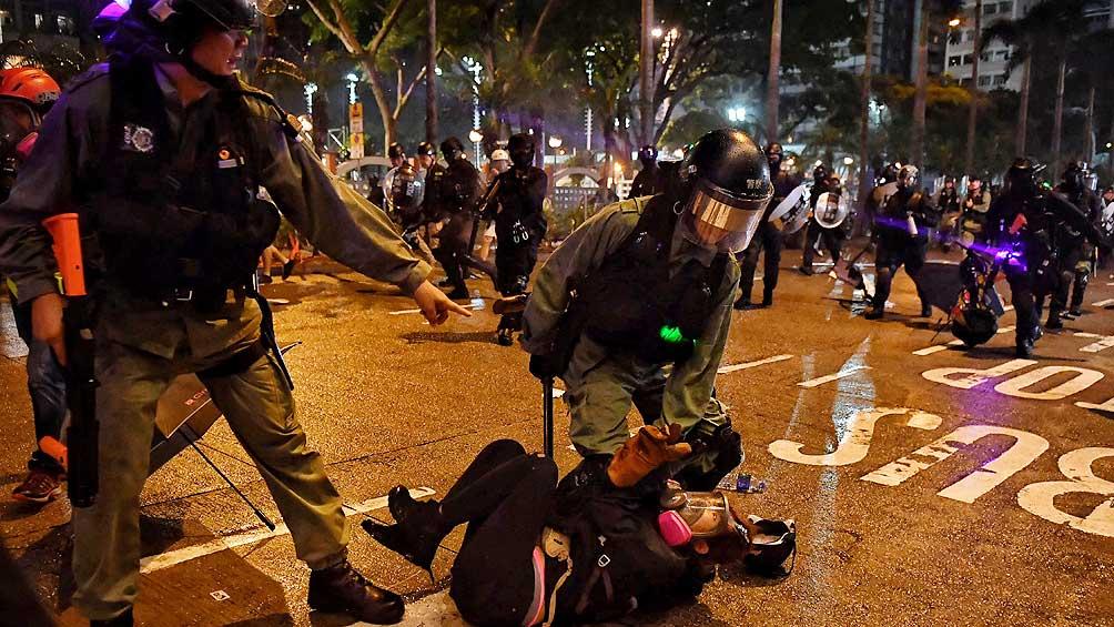El número de detenidos en tres meses de protestas es de  1.117