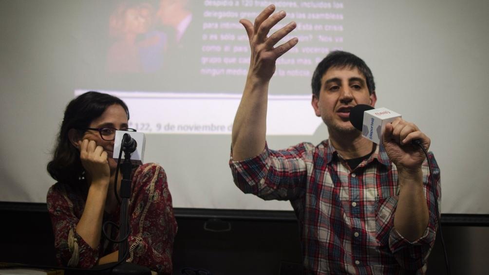 María Noel Alvarez y Eduardo Minutella. (Foto: Federico Muiña)