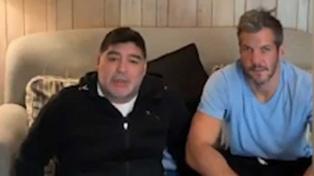 Diego Maradona a un paso de convertirse hoy en el nuevo entrenador de Gimnasia
