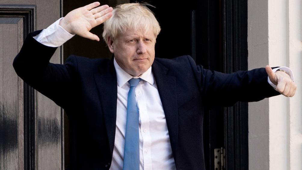 Johnson dice que su victoria