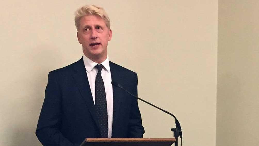Renuncia como diputado el hermano de Boris Johnson por