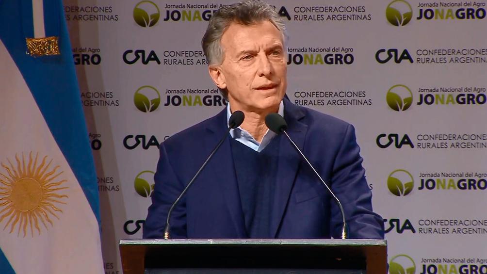 Macri anunció que tras 20 años de negociaciones, la Argentina le venderá harina de soja a China