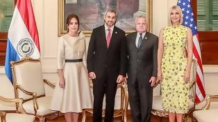 Ivanka Trump llevó a Asunción su plan en favor del empoderamiento de mujeres