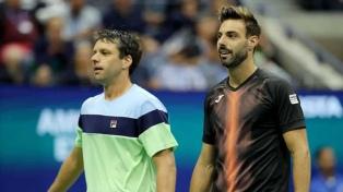 Zeballos, con el español Granollers, perdió la final de dobles