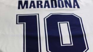 """""""Revolución Maradona"""" antes de la presentación"""