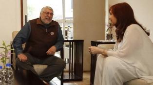 Cristina Fernández se reunió con el gobernador Passalacqua, Closs y Lugo