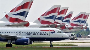 Por un paro de pilotos British Airways cancela más de 1700 vuelos