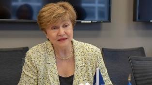 """Georgeva felicitó a Fernández y aseguró el compromiso del FMI de """"ayudar"""" al Gobierno"""