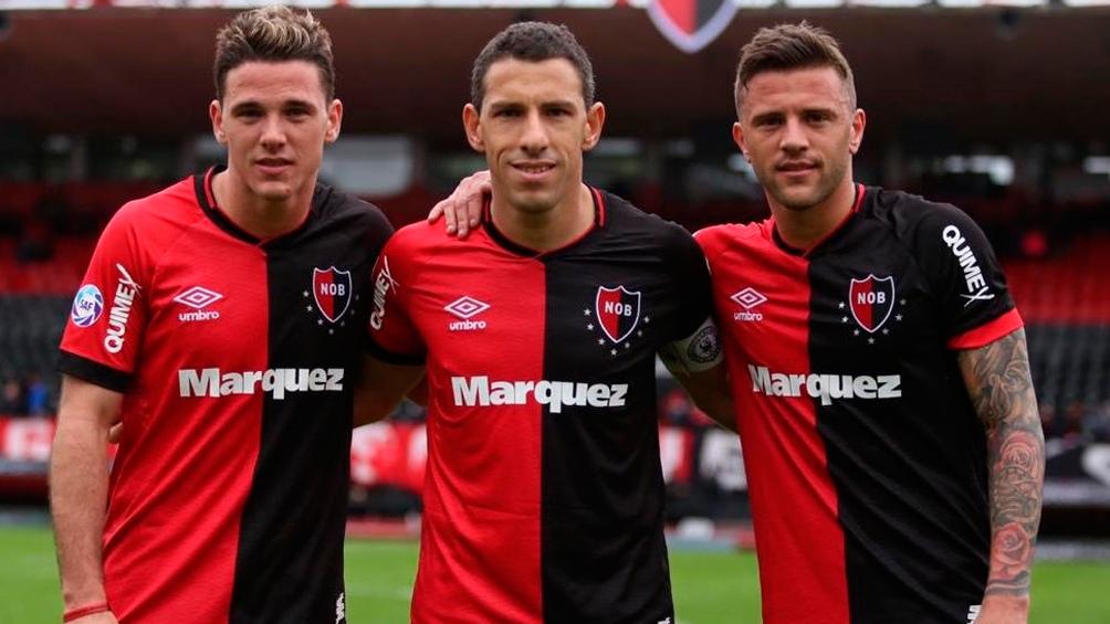 Los Rodríguez; Denis, Maxi y Alexis.