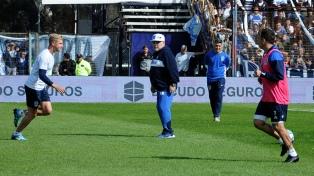 Maradona definió la lista de concentrados para su debut en Gimnasia