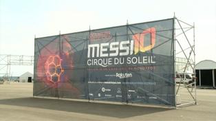 """El Cirque du Soleil estrenó """"Messi10"""", el show sobre el astro argentino"""
