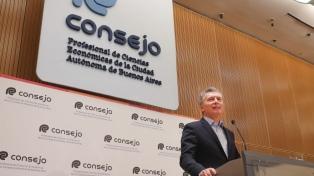 """Macri: """"Cada medida que tomamos busca llevar tranquilidad a las familias y a la clase media"""""""