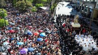 La Fiesta del Milagro cerrará con la convocante procesión del Señor y la Virgen