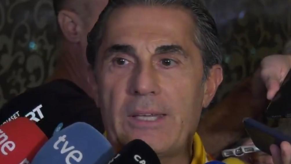 El técnico de España anticipa una final