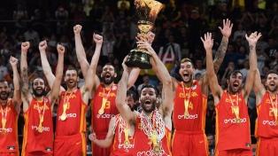 Argentina cayó ante España y se quedó con el subcampeonato